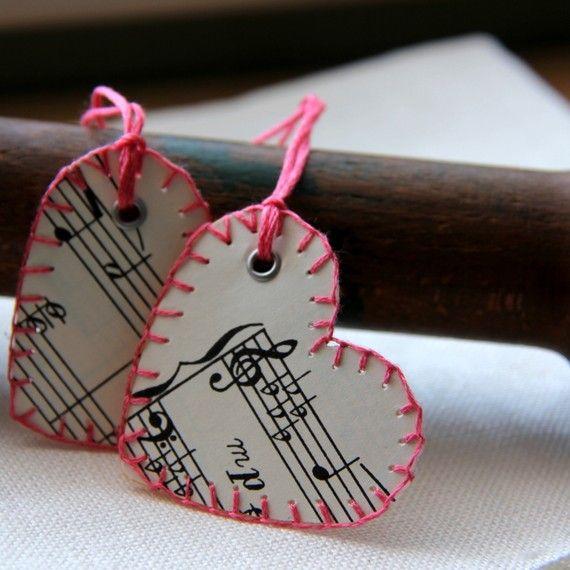 14 валентинок из бумаги на 14 февраля