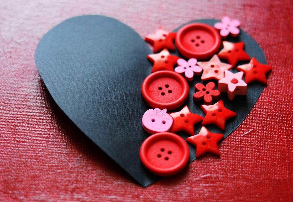 Быстрая валентинка ко дню влюбленных