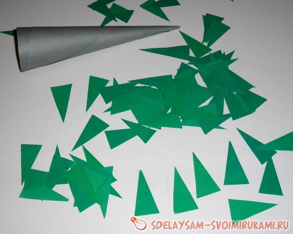 Как сделать ёлку из бумаги своими руками к новому году
