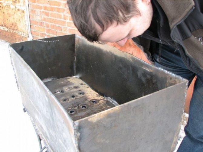 Мангал своими руками из металла: чертежи, фото, размеры