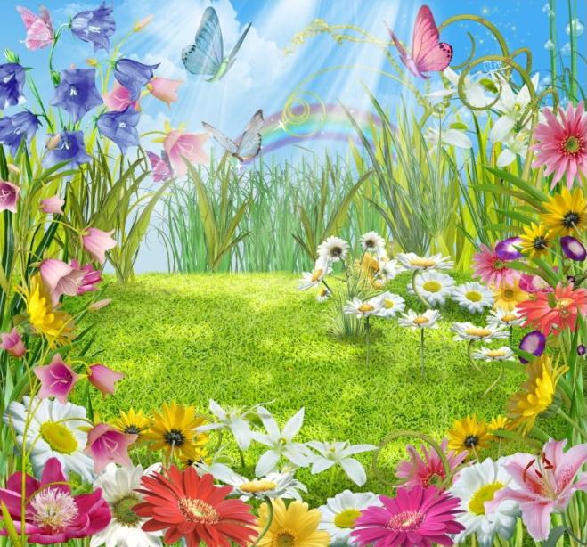 Конспект нод по аппликации «цветочная поляна» для детей второй младшей группы. воспитателям детских садов, школьным учителям и педагогам - маам.ру