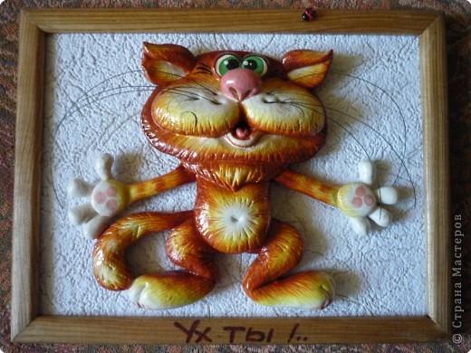 Кошка из соленого теста своими руками пошаговая инструкция     my darling cats