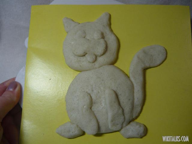 Поделки из солёного теста: как слепить кота