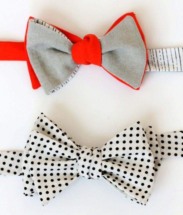 Шьем галстук-бабочку для джентельмена