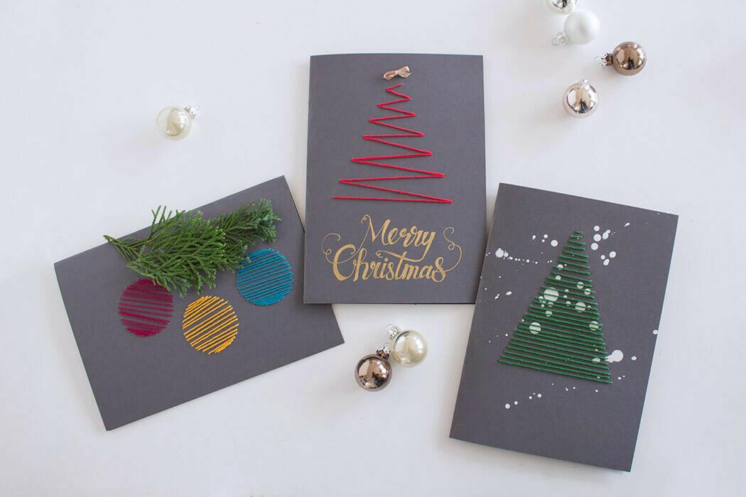 Открытка на новый год своими руками из бумаги: 100 легких идей с детьми
