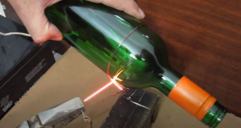 Как разрезать стеклянную бутылку - лучшие идеи и советы как обрезать бутылку