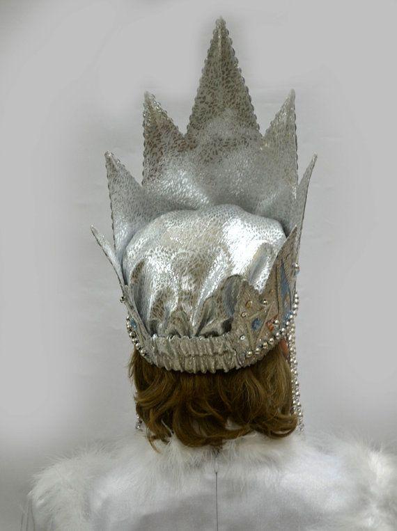 Как сделать корону для снежной королевы