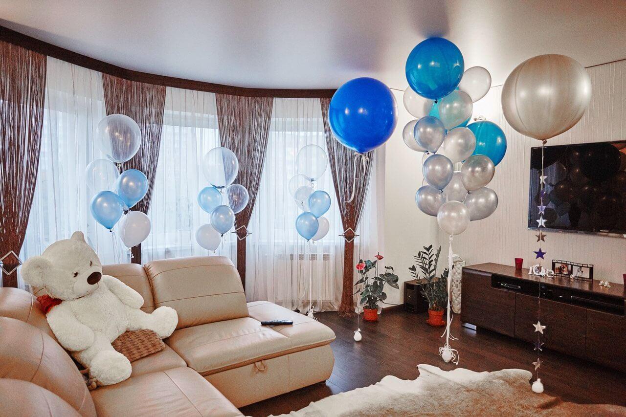 Как украсить комнату шарами своими силами. 20 идей с фото. | снова праздник!