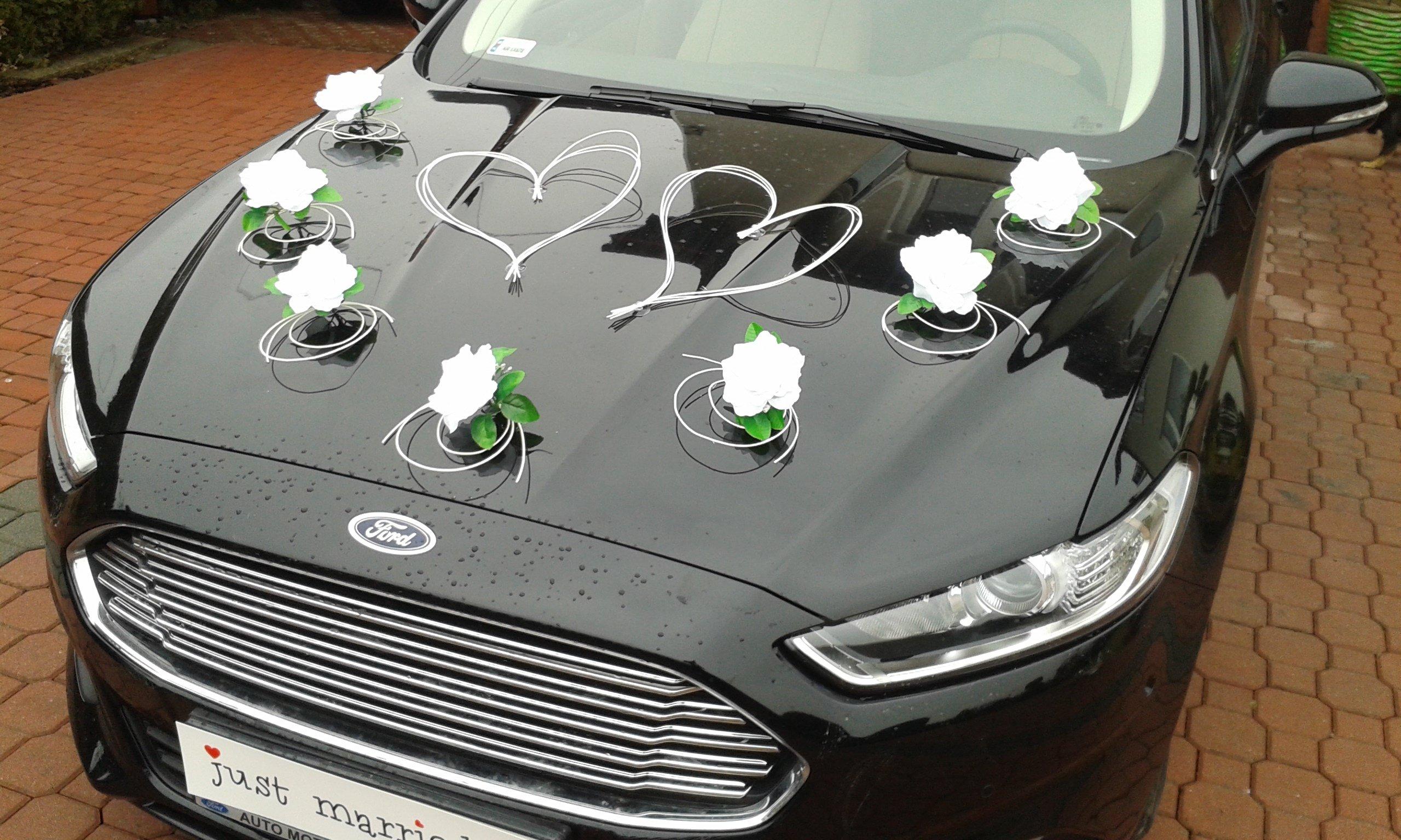 Украшение машины на свадьбу своими руками - идеи