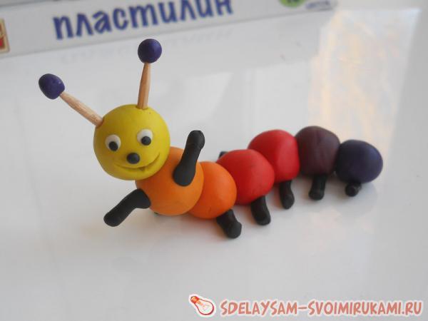 Конспект нод по ручному труду «гусеница из желудей» (дети старшего дошкольного возраста)