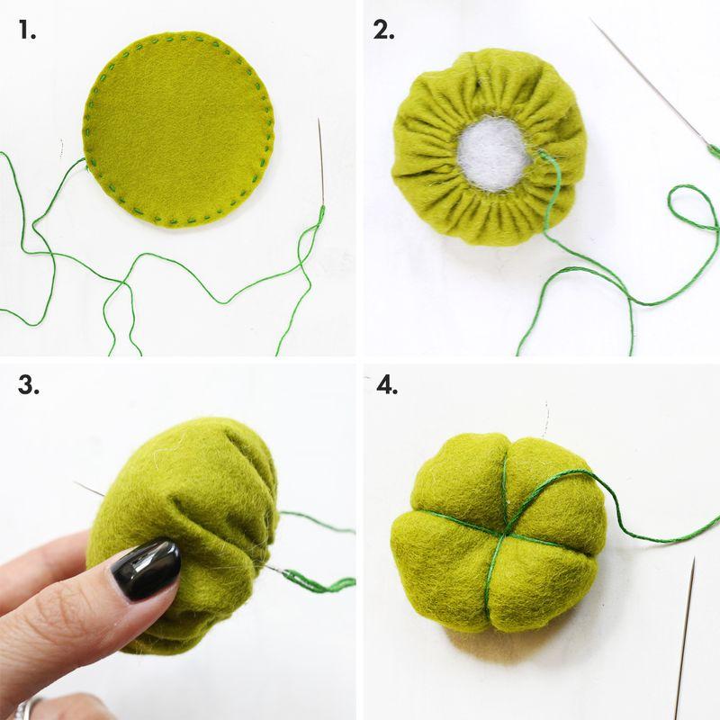 Как сшить игольницу в виде цветка. необычная игольница своими руками - 5 свежих идей