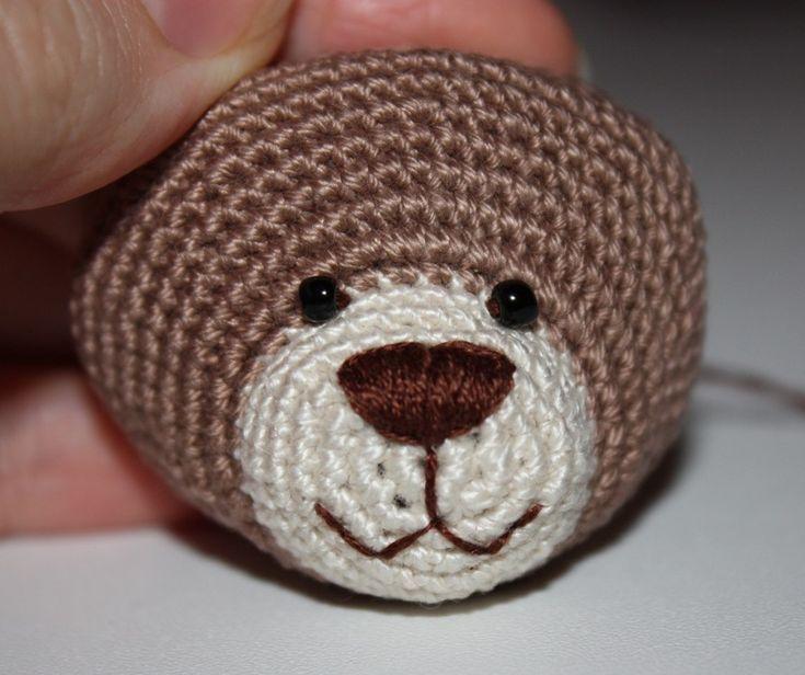 Медвежонок амигуруми: схема крючком