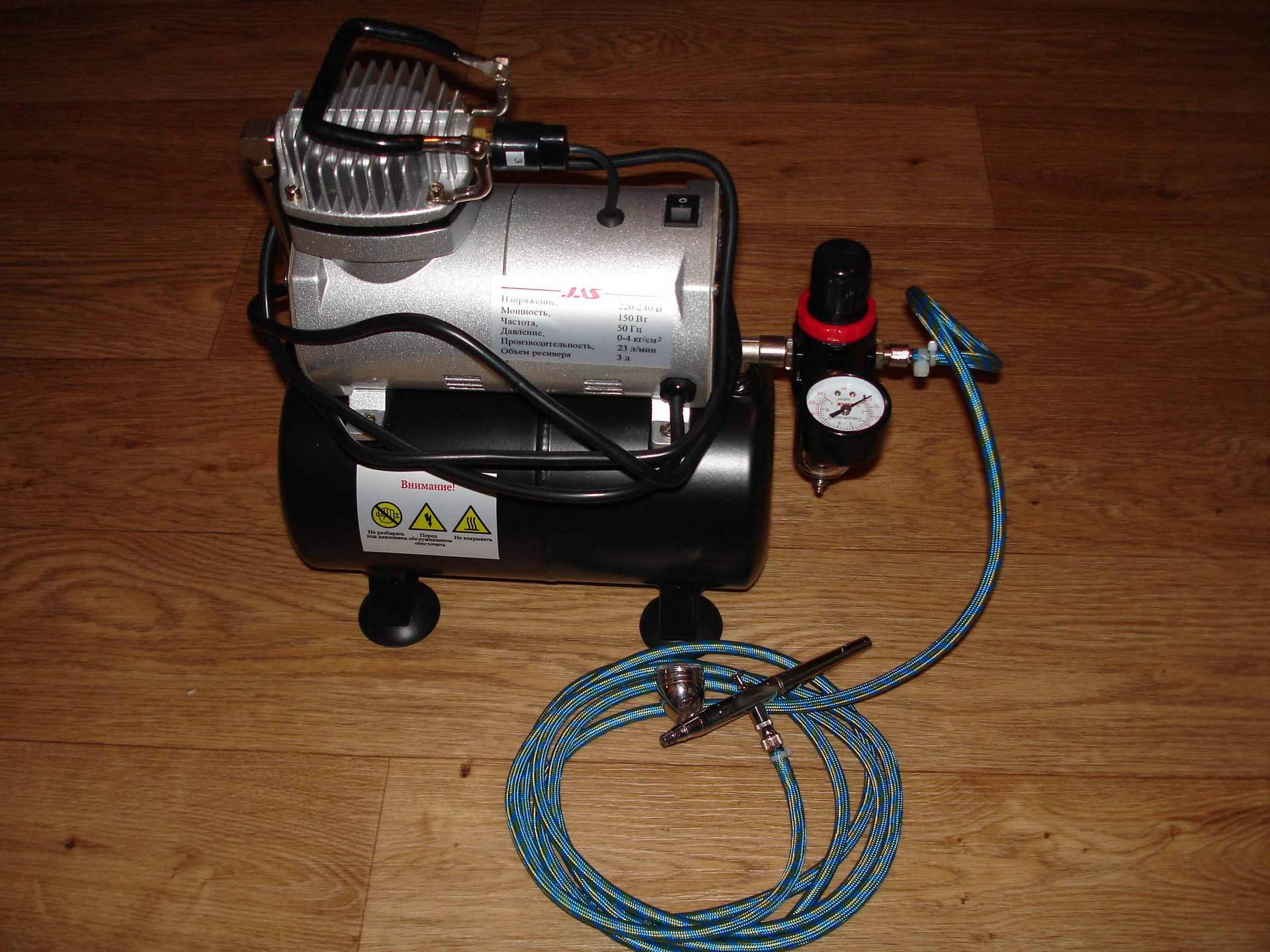 Аэрограф своими руками: как собрать самодельный компрессор в домашних условиях
