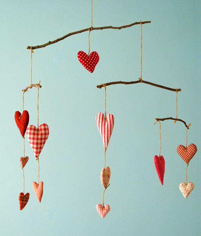 Украшение для дома ко дню святого валентина - своими руками❤