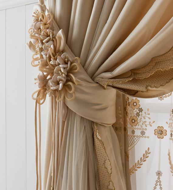 Держатели для штор — самые модные и разнообразные варианты дизайна элемента декора (115 фото)