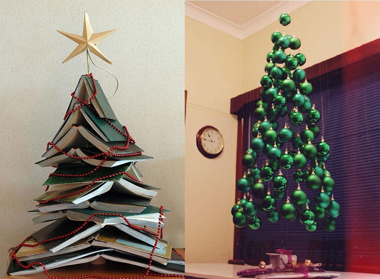 Необычные и креативные елки ·