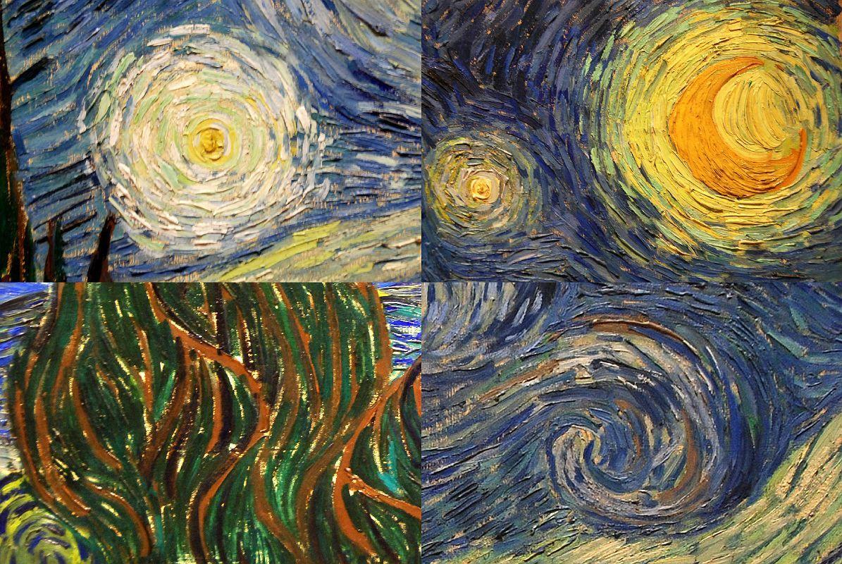 Стилизации под картину Винсента Ван Гога