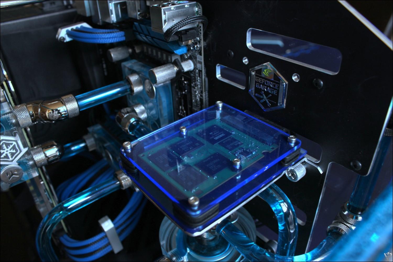 Система водяного охлаждения.