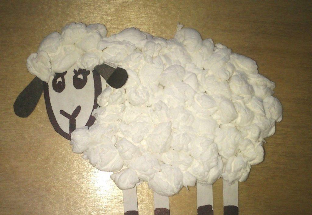 Новогодняя овечка своими руками. как сшить овечку из ткани овечка своими руками часть первая