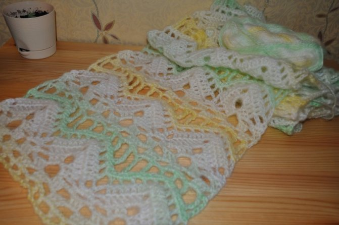 Шарф спицами: 155 фото и видео для начинающих основных техник вязания шарфов
