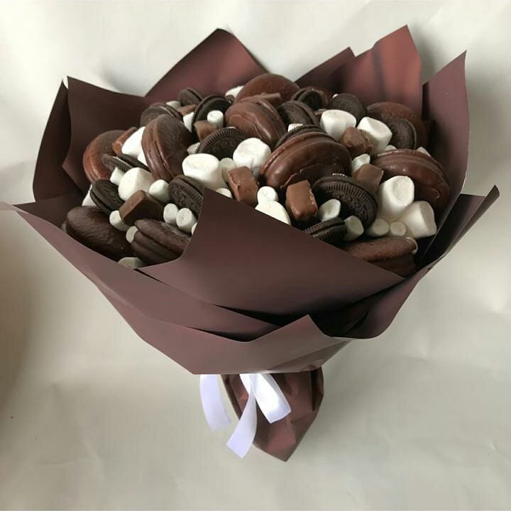 Букет из конфет: пошаговая инструкция и идеи по оформлению (105 фото)