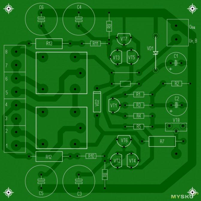 Стереоусилитель для мультимедийных устройств на микросхеме tda7496sa