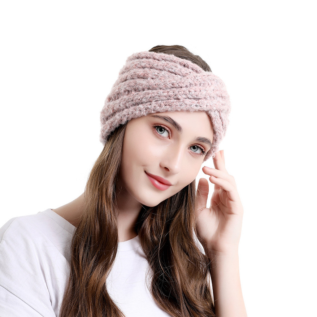 Вязаная повязка на голову спицами — подборка схем вязания