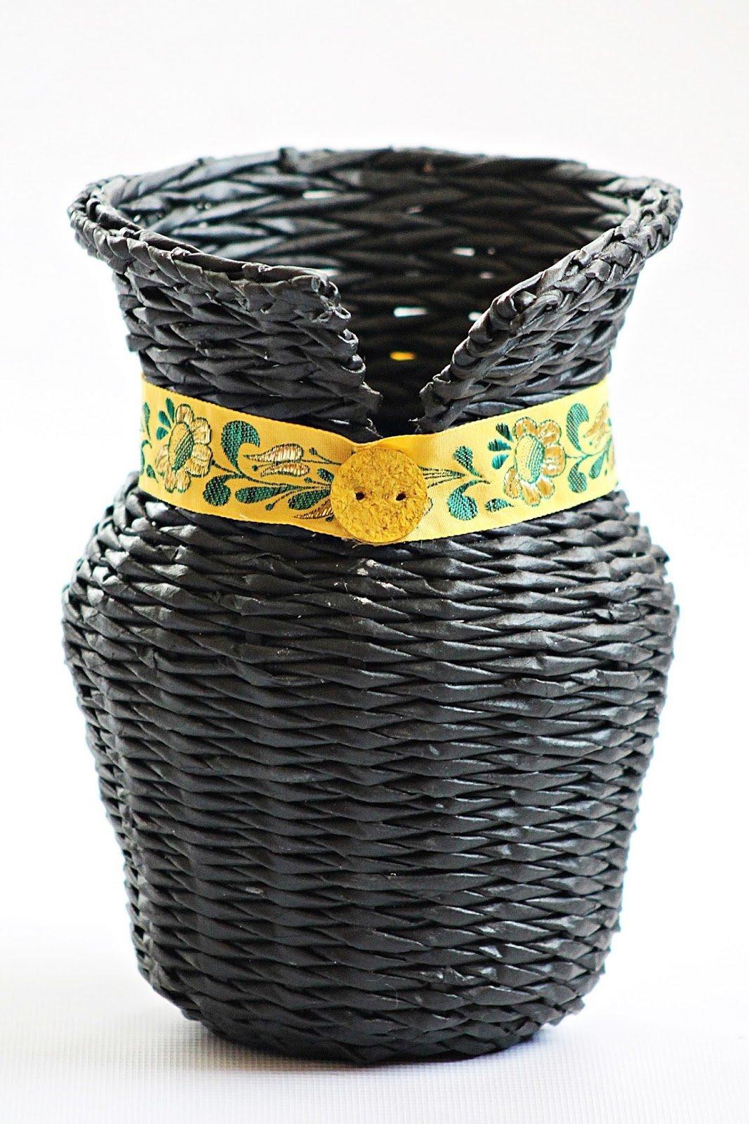 Плетение из газет: урок 2. основные виды плетения (спиральное) | rezumistka