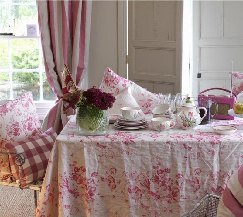 Скатерти в стиле прованс, кантри, русском стиле и других: что подойдет вашей столовой?