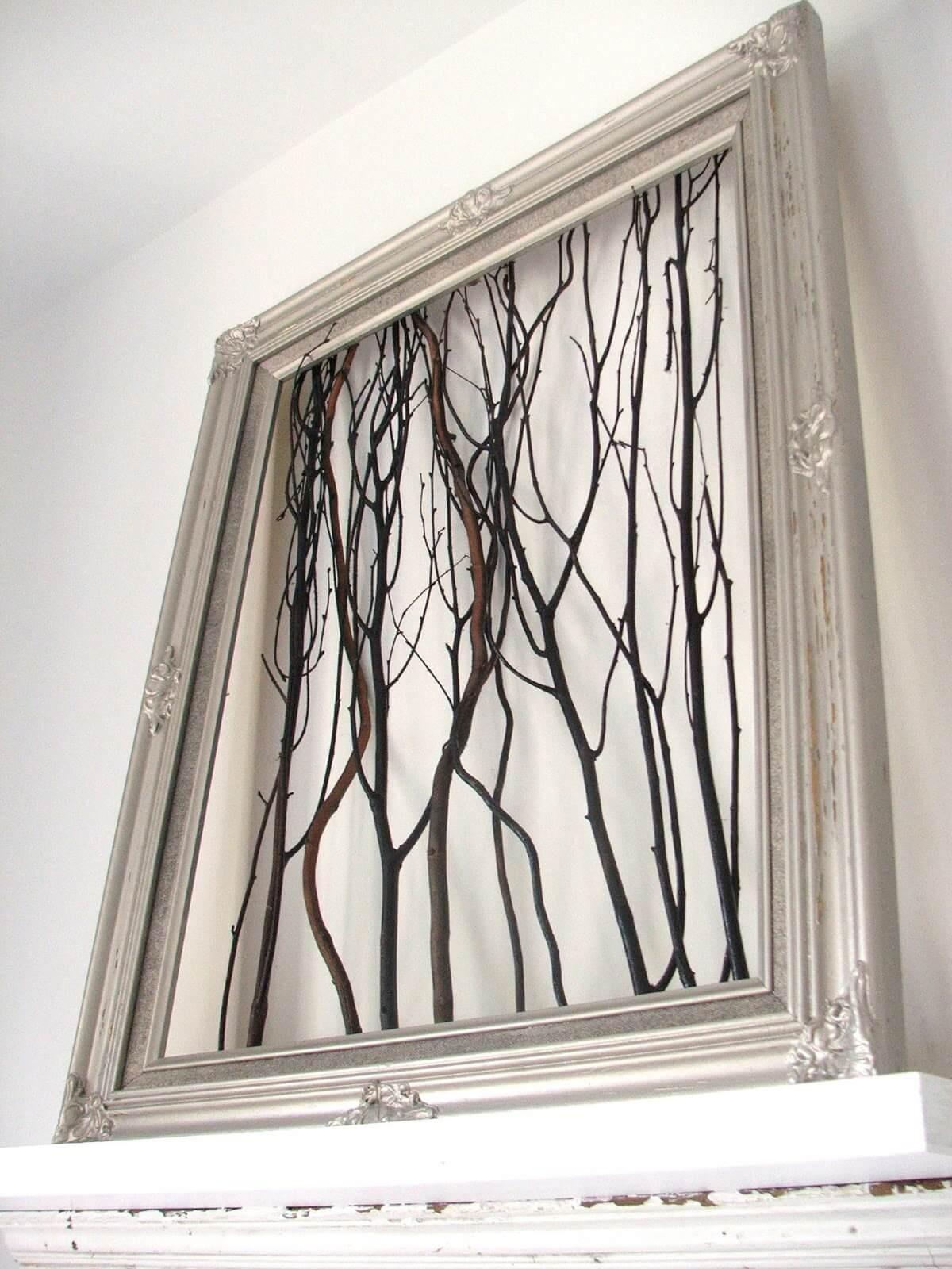 Идеи для дерева на стене в интерьере помещения: объемное или нарисованное пошагово