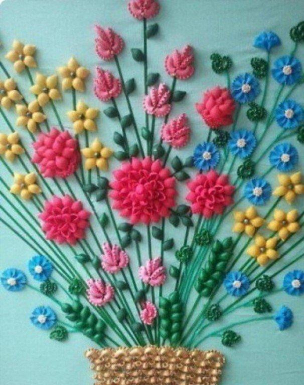 Мастер-класс для педагогов доу по декоративно-прикладному творчеству «чудеса из макарон»