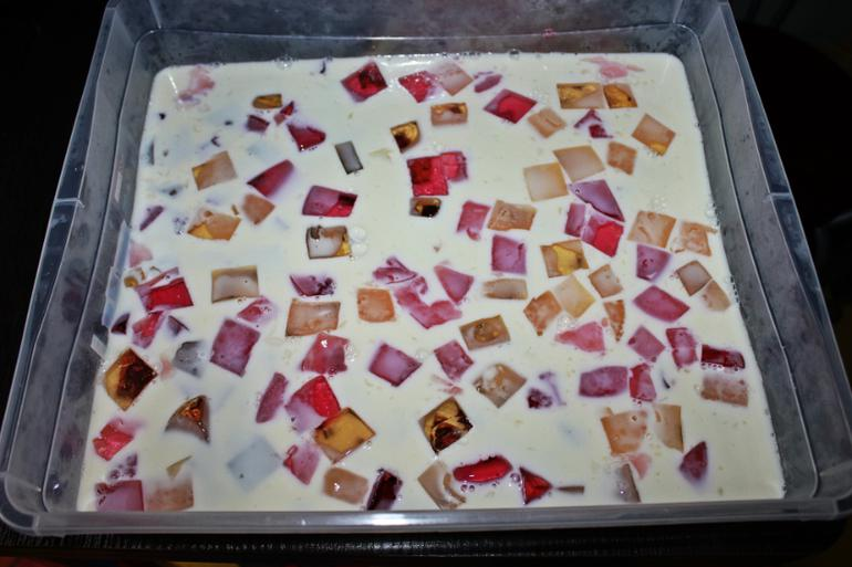 Торт битое стекло