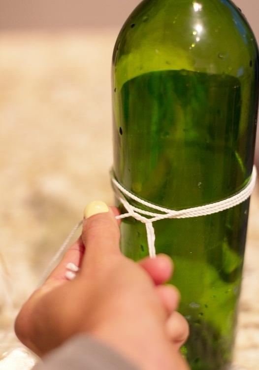 Как разрезать стеклянную бутылку: мастер-класс как ровно разрезать стекло при помощи нитки
