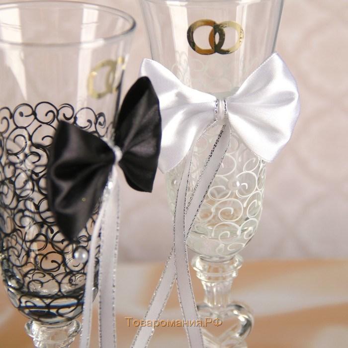 Свадебные бокалы своими руками — идеи украшения и стильные варианты оформления (90 фото)