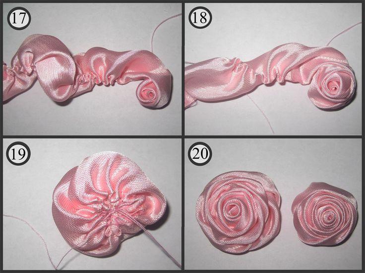 Розы из ткани своими руками: простые пошаговые мастер-классы для начинающих
