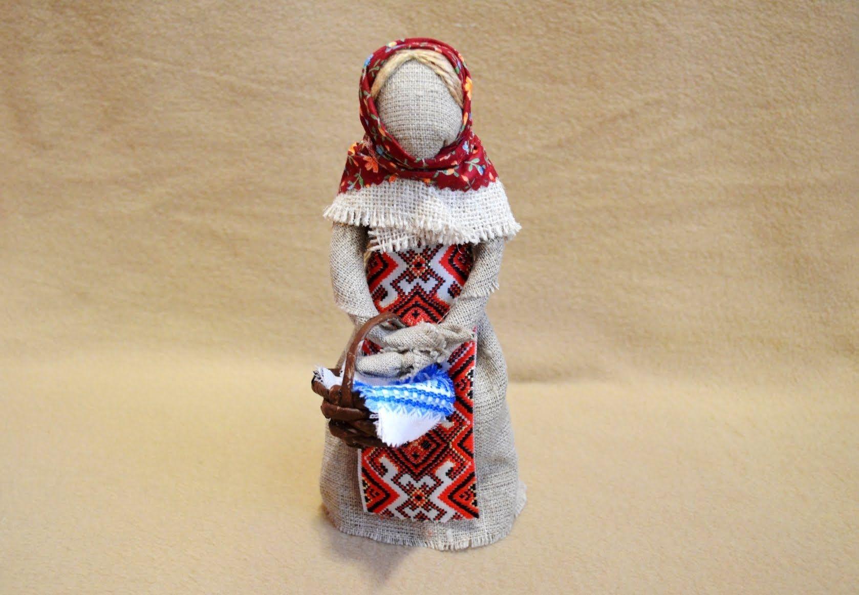 Украинская кукла-мотанка — коробочка идей и мастер-классов