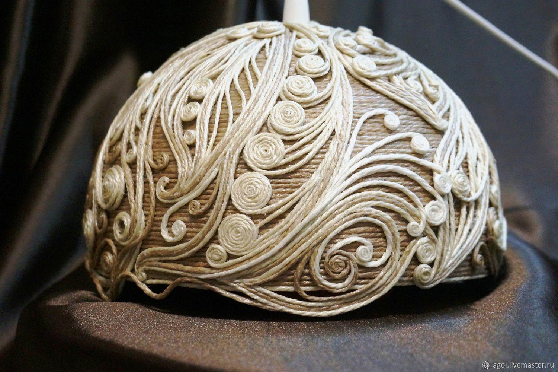 Джутовая филигрань: красивые поделки из джута своими руками