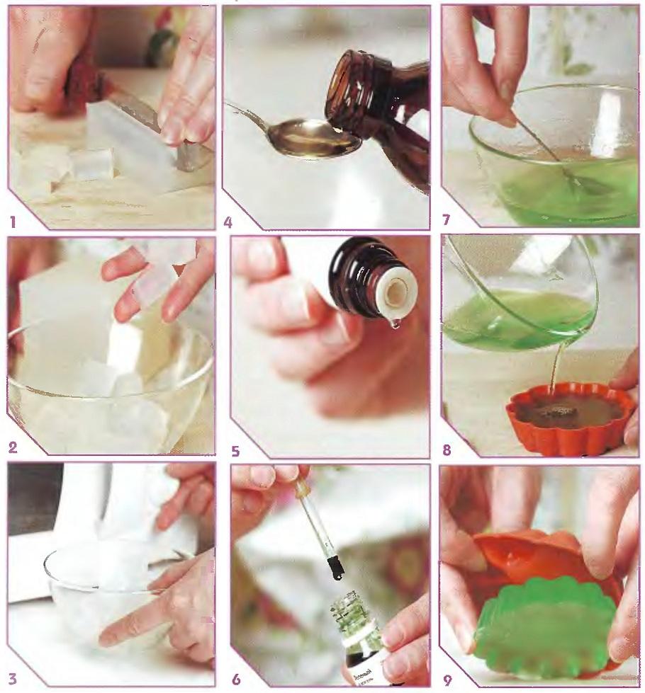 Как сделать двухцветное мыло ручной работы, мастер - класс с фото, пошагово