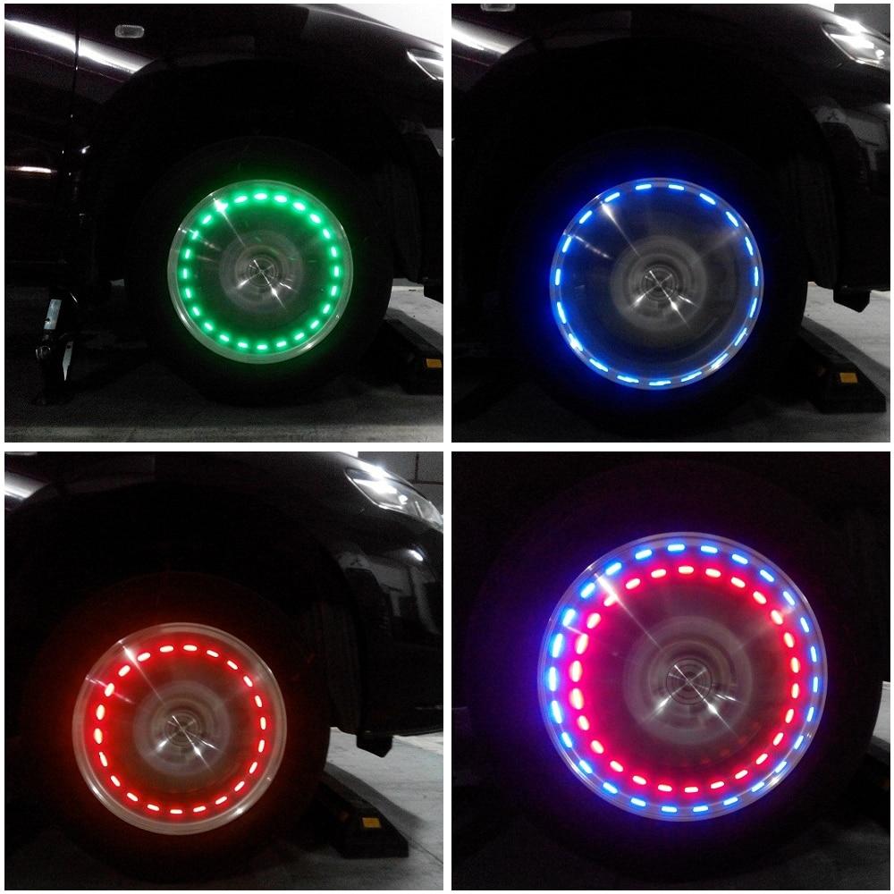 Подсветка колесных дисков — своими руками