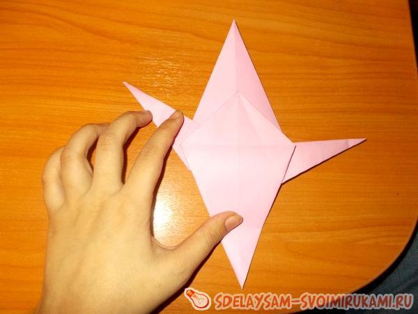 Улитка (оригами)
