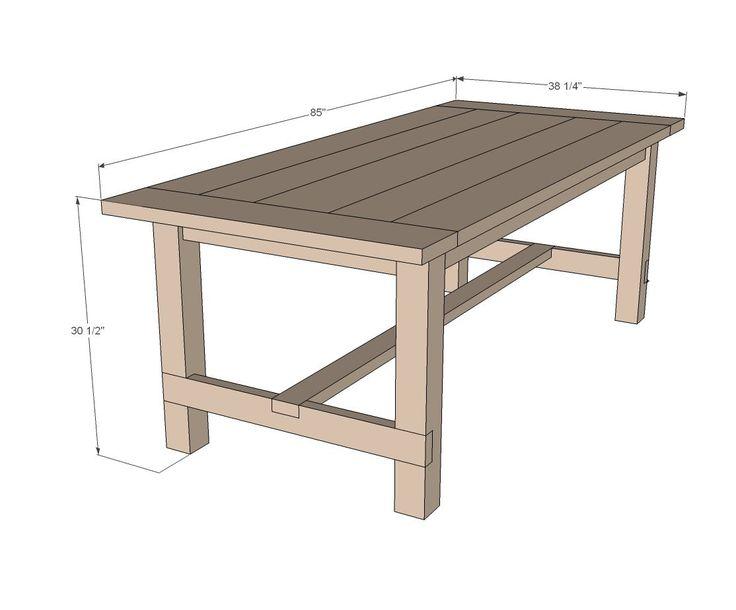 Как сделать садовый стол из дерева своими руками: чертежи и схемы сборки