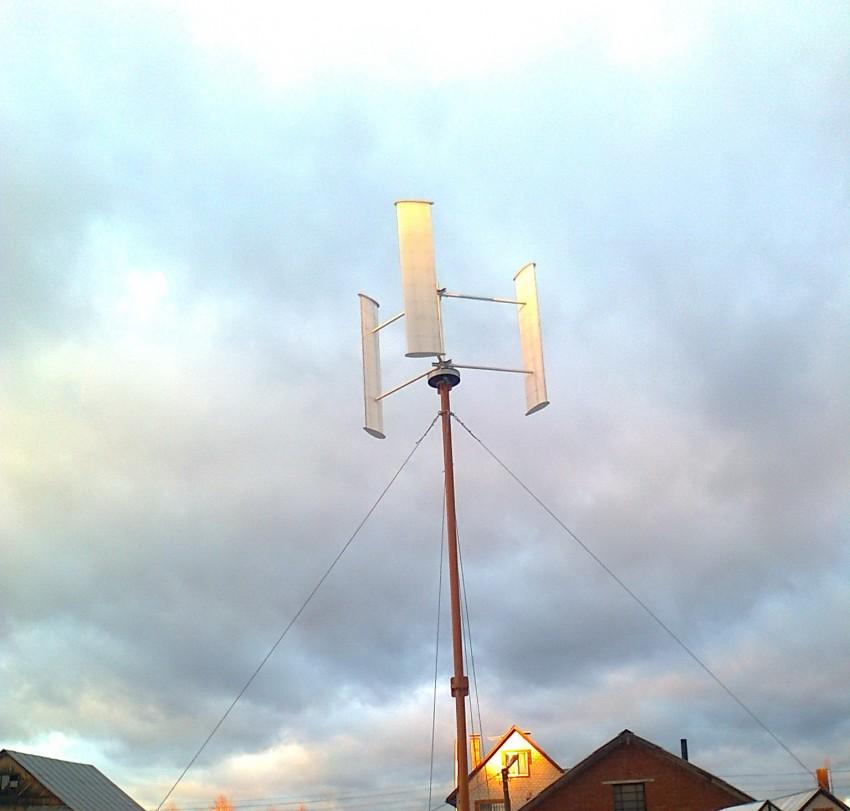 Ветрогенератор 12 вольт своими руками
