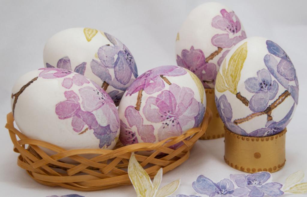 Декупаж пасхальных яиц цветными салфетками рецепт с фото пошагово - 1000.menu