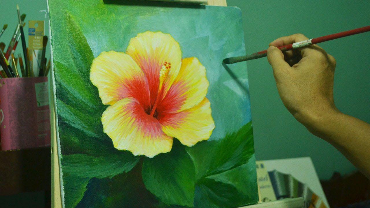 ᐉ рисуем портрет акриловыми красками - своими руками -