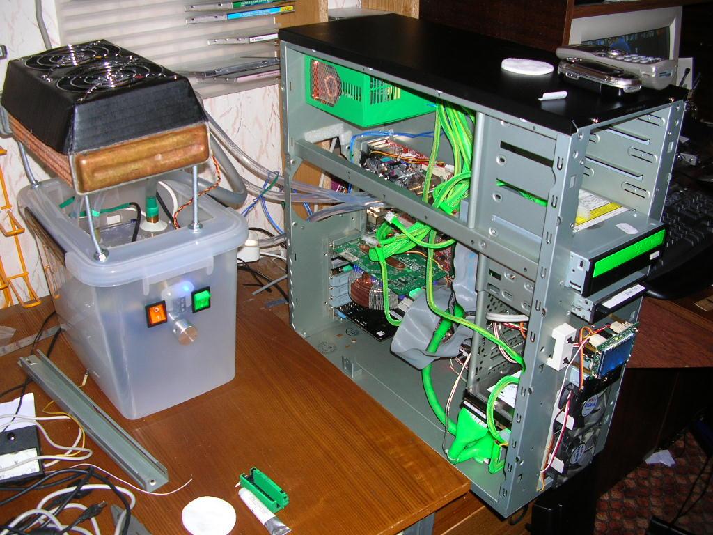 Система жидкостного охлаждения для видеокарт id-cooling icekimo 240vga: минус тридцать