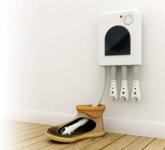 Сушилка для обуви из подручных материалов, изготовление своими руками