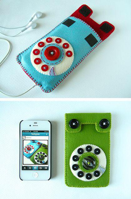 Чехол для телефона своими руками: мастер-класс изготовления для сенсорных моделей