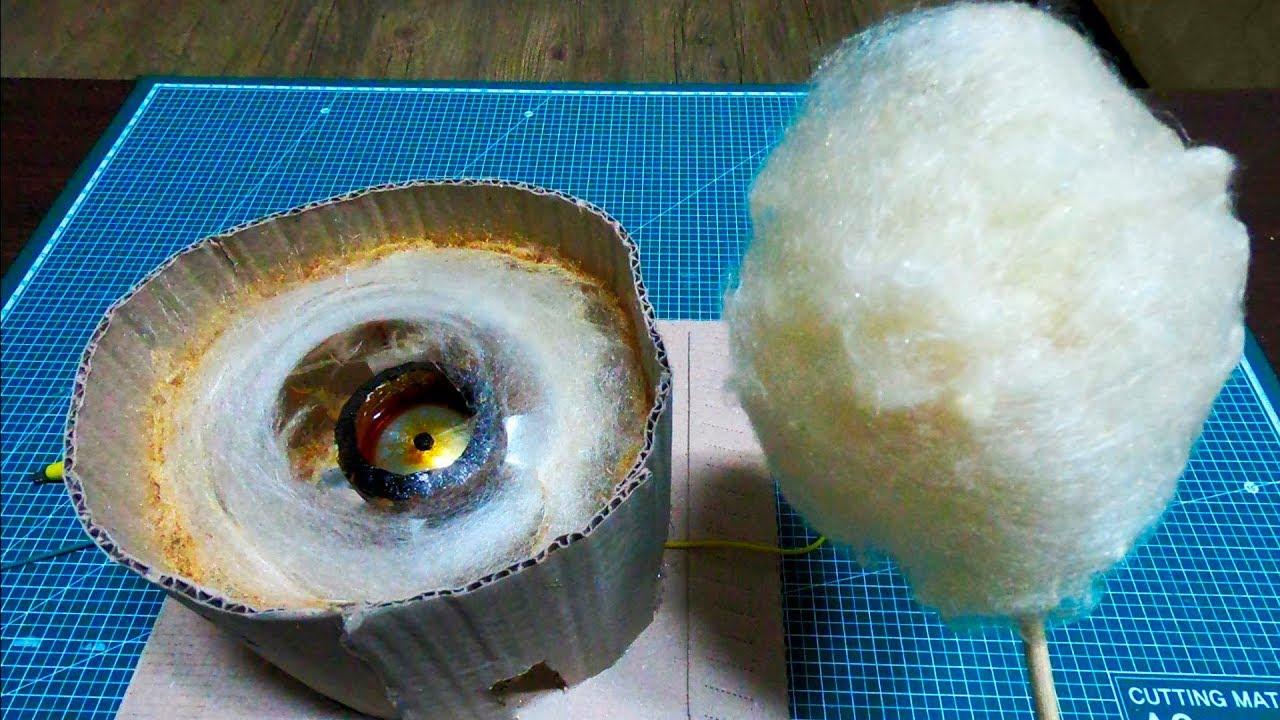Изготовление сахарной ваты: как делают на производстве и в домашних условия, аппараты и оборудование