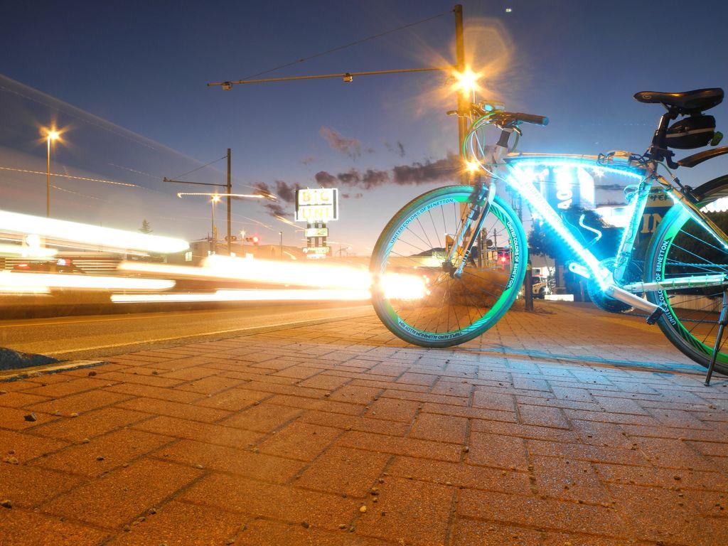Подсветка для велосипеда: разновидности и критерии выбора