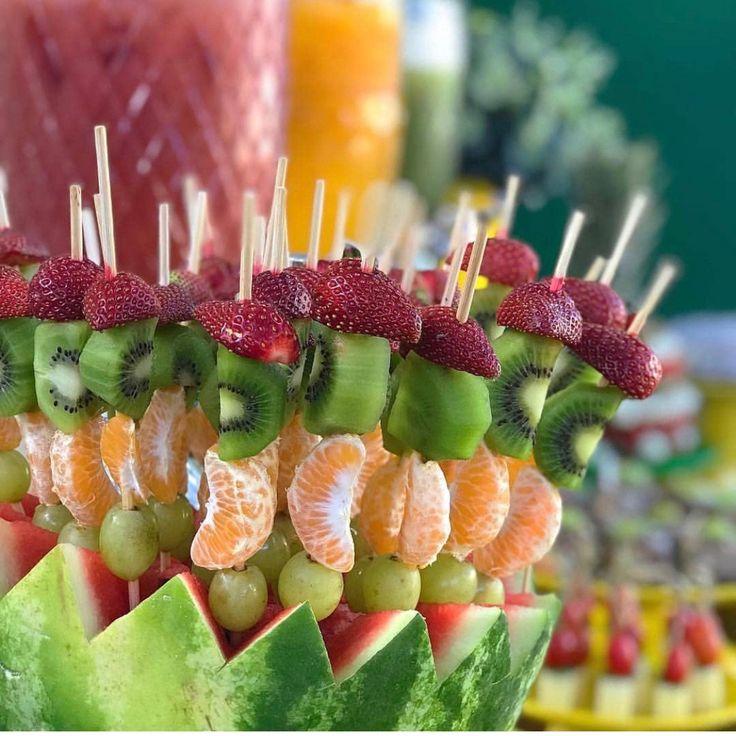 Как нарезать фрукты красиво на стол, сервировать и подать (+фото)